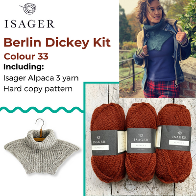 Berlin Dickey Kit Isager Kits & Combos 33 Alpaca 3