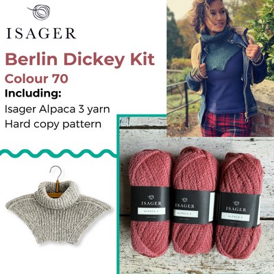 Berlin Dickey Kit Isager Kits & Combos 70 Alpaca 3