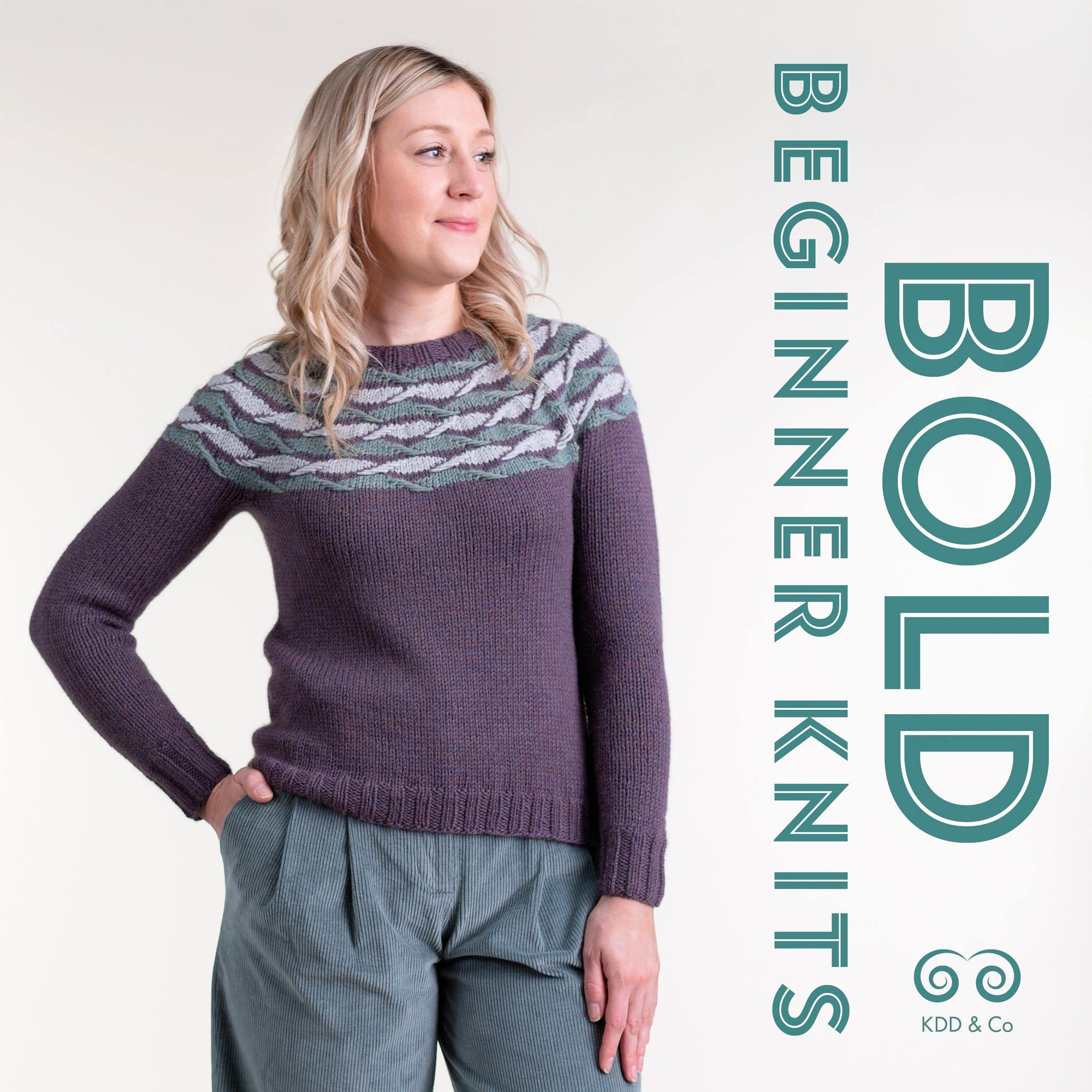 Bold Beginner Knits - Kate Davies Kate Davies Designs Book