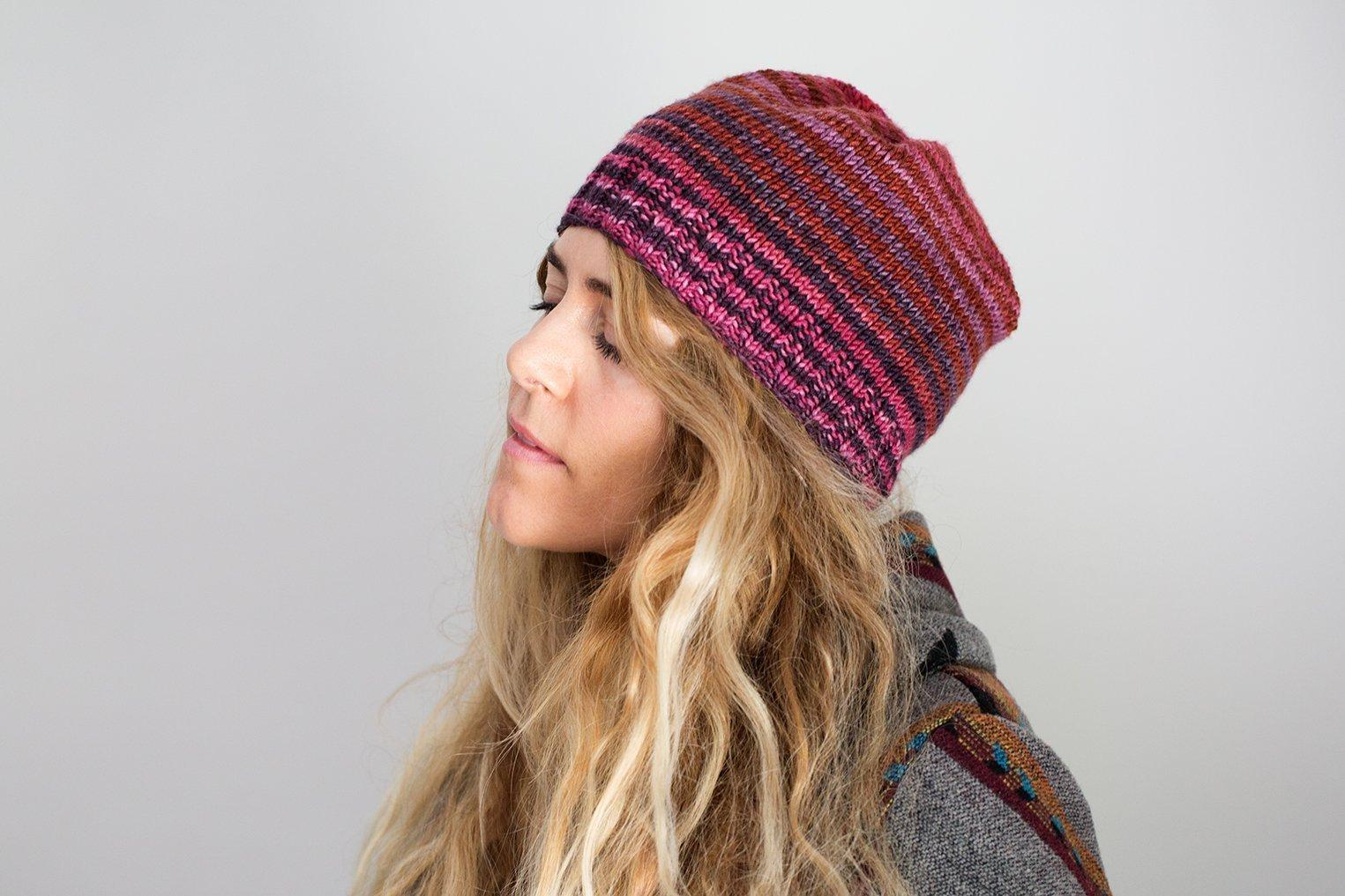 Box Pleated Hat Pattern Urth Yarns Pattern