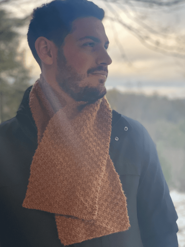 Boxwood Scarf Pattern by Clinton Hill Cashmere Clinton Hill Cashmere Pattern