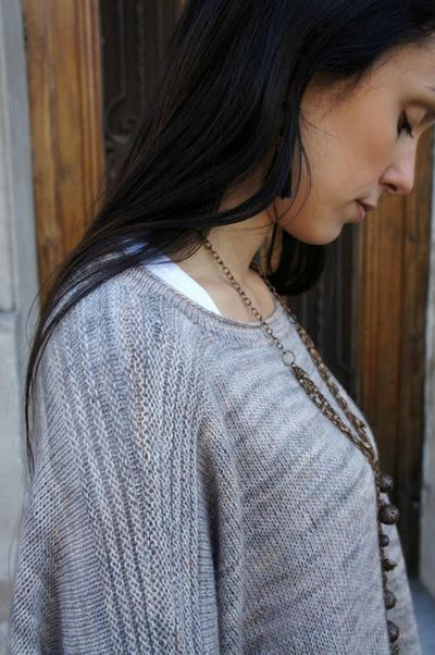 Boxy Sweater Pattern by Joji Locatelli tribeyarns Pattern