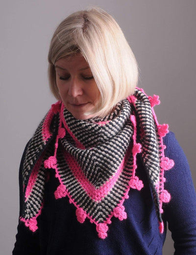 Brighton Rock Shawl Pattern Mrs Moon Pattern