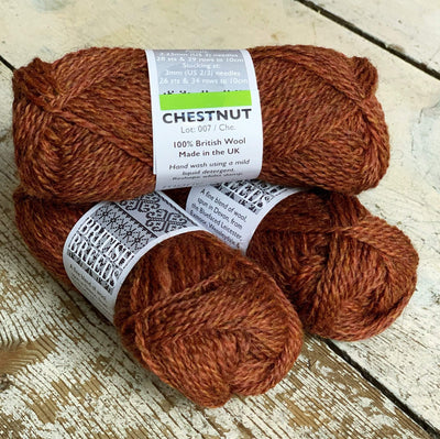 British Breeds by Marie Wallin Marie Wallin Yarn Chestnut BB