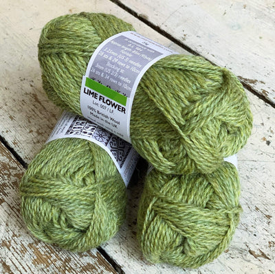 British Breeds by Marie Wallin Marie Wallin Yarn Lime Flower BB