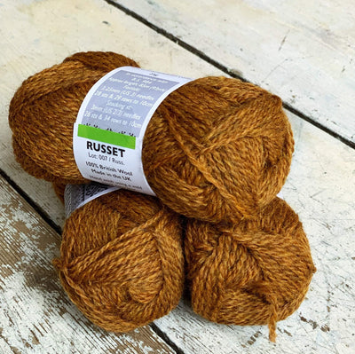 British Breeds by Marie Wallin Marie Wallin Yarn Russet BB