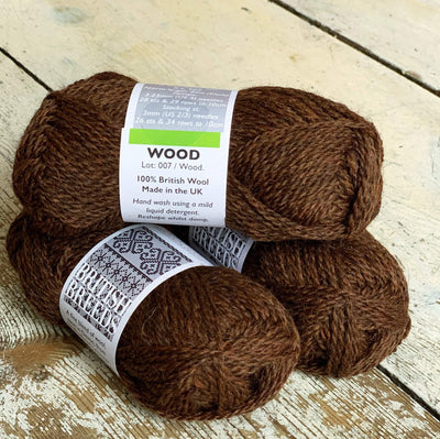 British Breeds by Marie Wallin Marie Wallin Yarn Wood BB