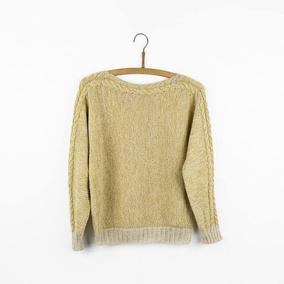 C6 ((Cable 6) Sweater Pattern Isager Pattern
