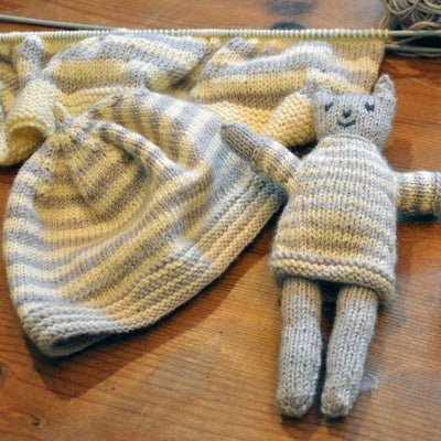 Cat and Hat Pattern Swans Island Knitting Pattern
