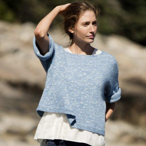 Cecily Pullover Pattern Swans Island Knitting Pattern