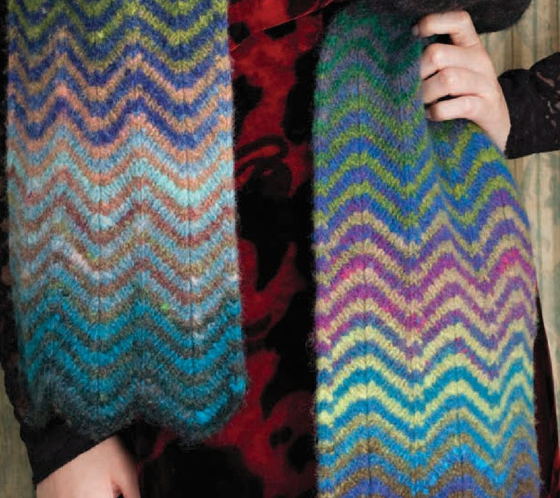 Chevron Scarf Pattern by Noro Noro Pattern