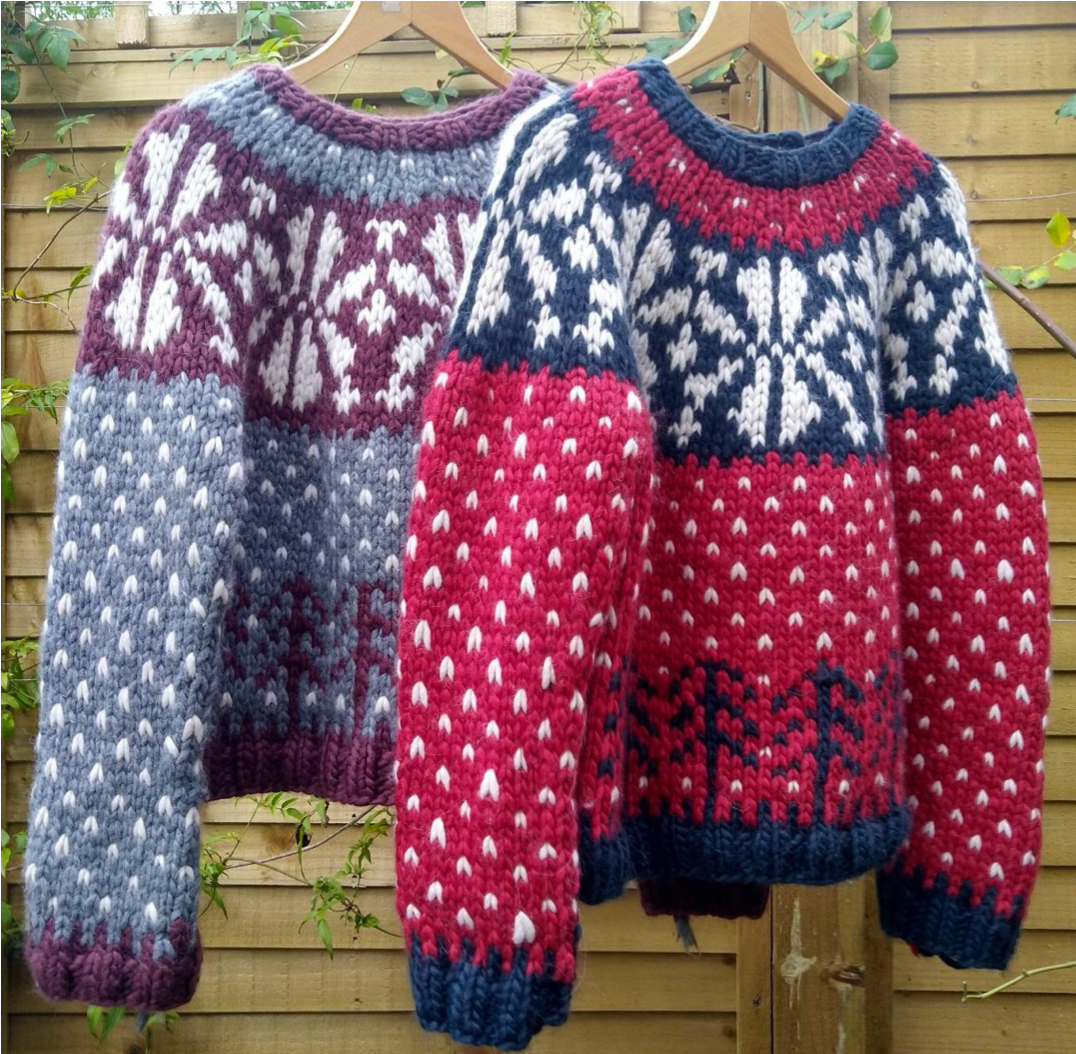 Christmas Jumper Pattern Mrs Moon Pattern