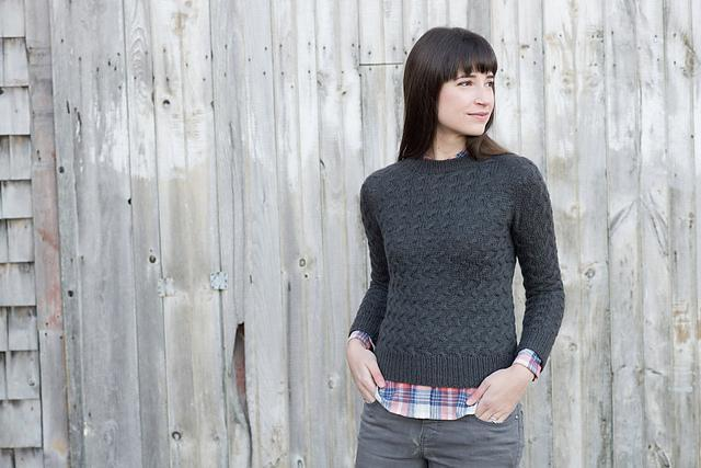 Coastal Pullover Pattern Knitbot Knitting Pattern