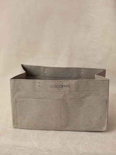 Cocoknits Kraft Caddy Cocoknits Bags & Cases Grey