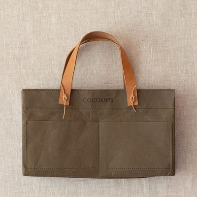 Cocoknits Kraft Caddy Cocoknits Bags & Cases Olive