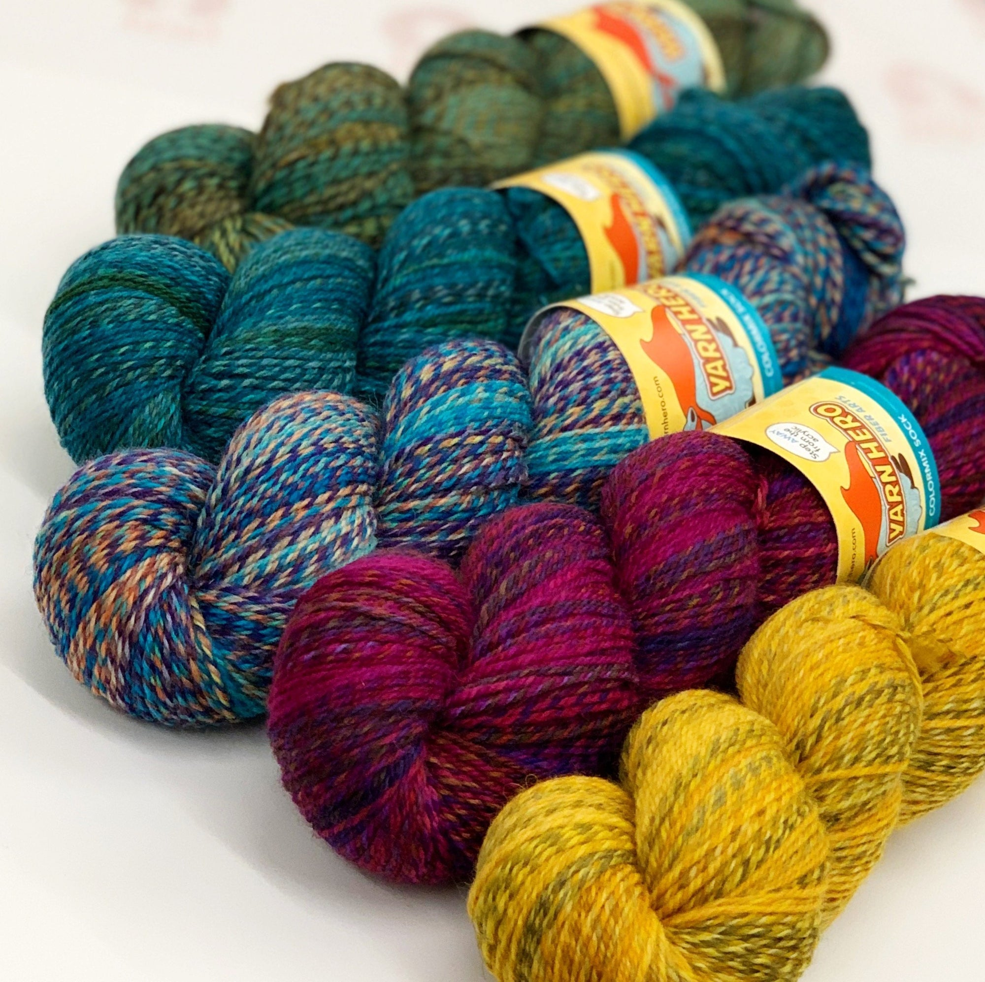 ColorMix Sock Yarn Hero Yarn