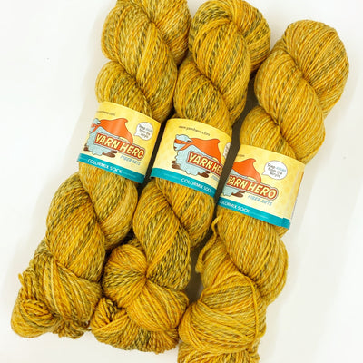 ColorMix Sock Yarn Hero Yarn Golden Ticket