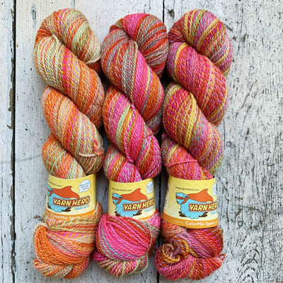 ColorMix Sport Yarn Hero Yarn Groovy