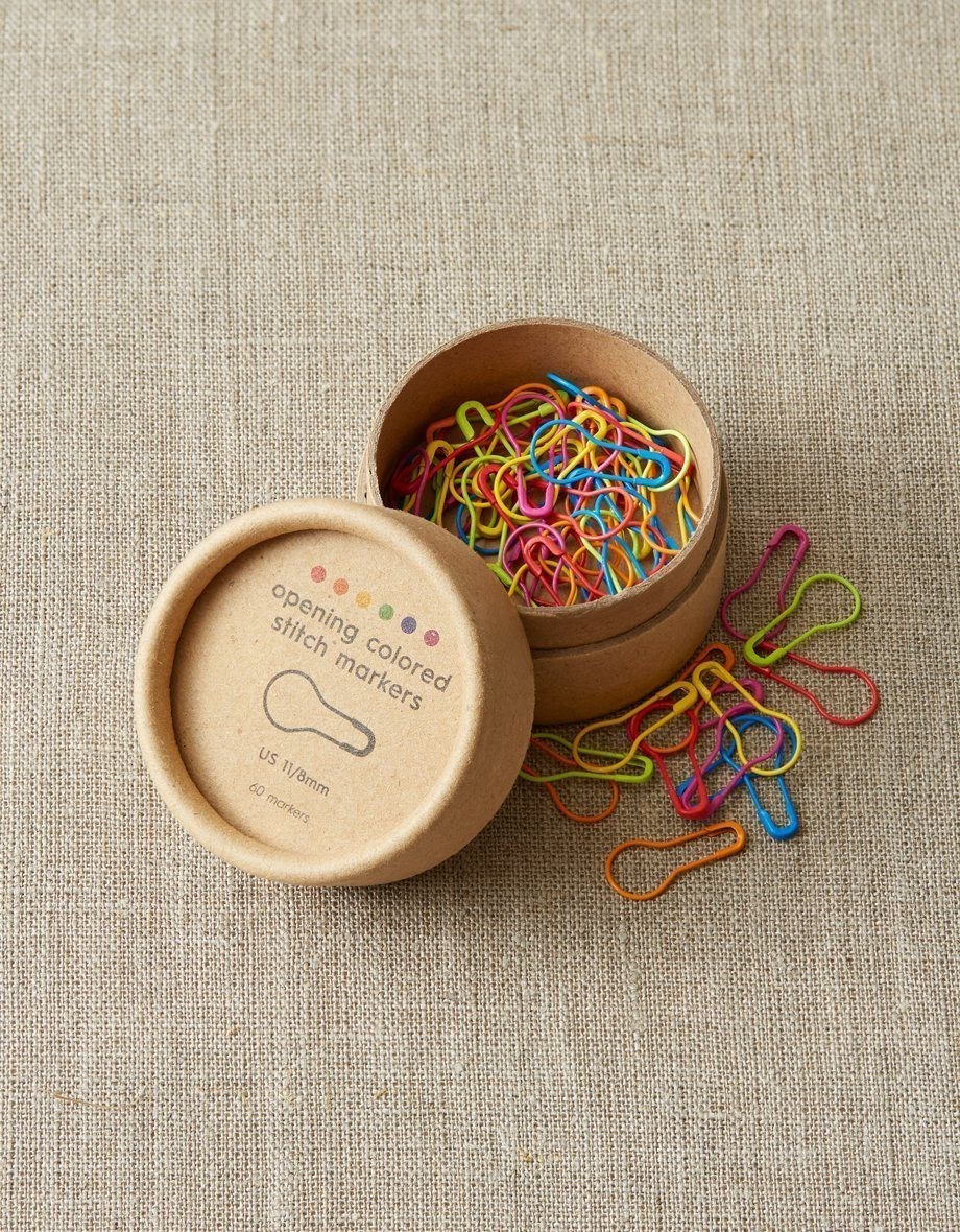 Coloured Opening Stitch Markers Cocoknits Stitch Markers & Row Counters