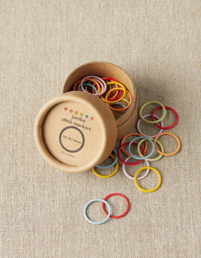 Coloured Stitch Markers - Jumbo Cocoknits Stitch Markers & Row Counters
