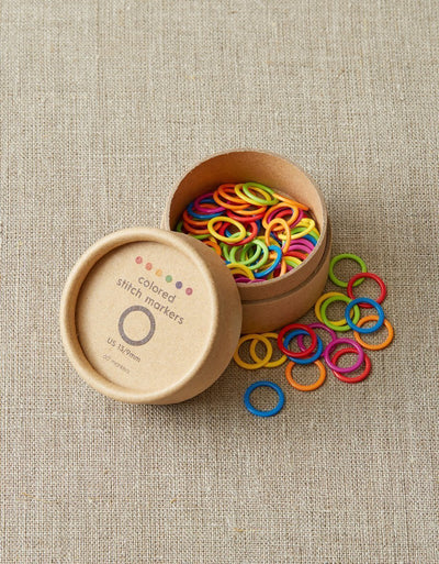 Coloured Stitch Markers - Large Cocoknits Stitch Markers & Row Counters