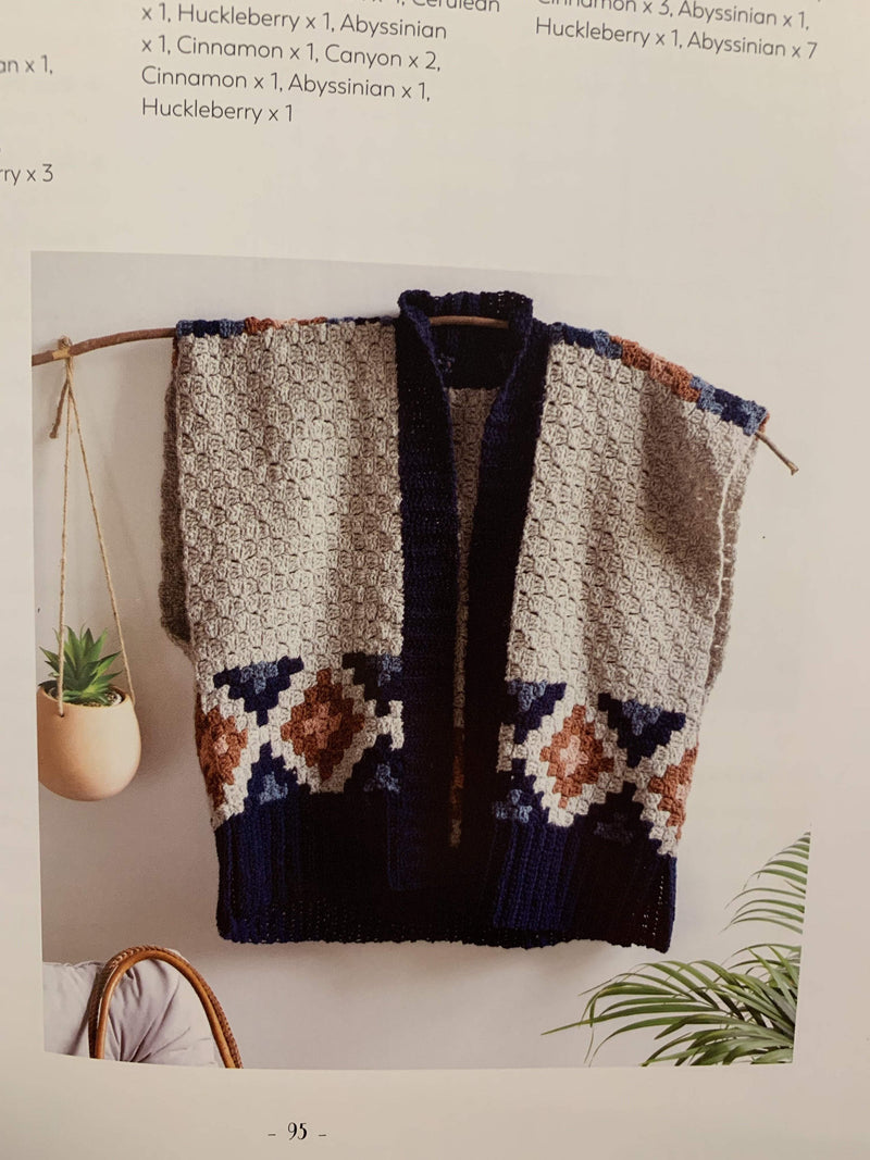 Corner to Corner Crochet Book by Jess Coppom tribeyarns Book
