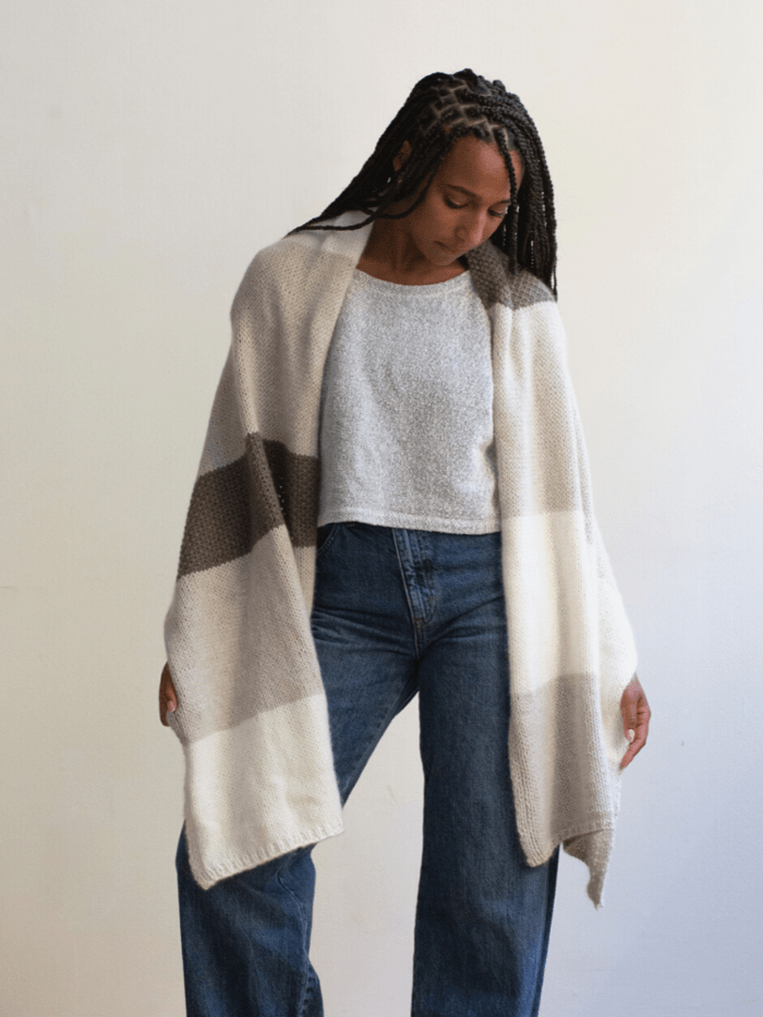 Country Wrap Pattern by Clinton Hill Cashmere Clinton Hill Cashmere Pattern