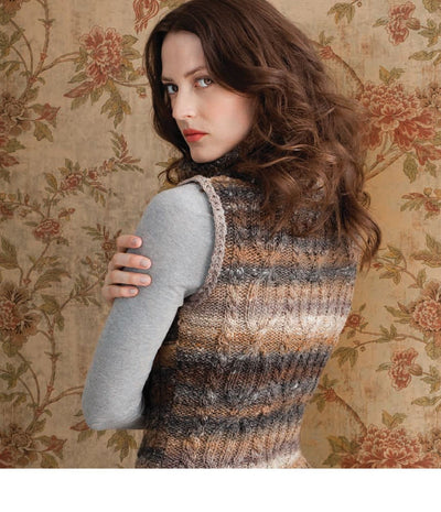 Cowl Neck Tunic Pattern by Noro Noro Pattern