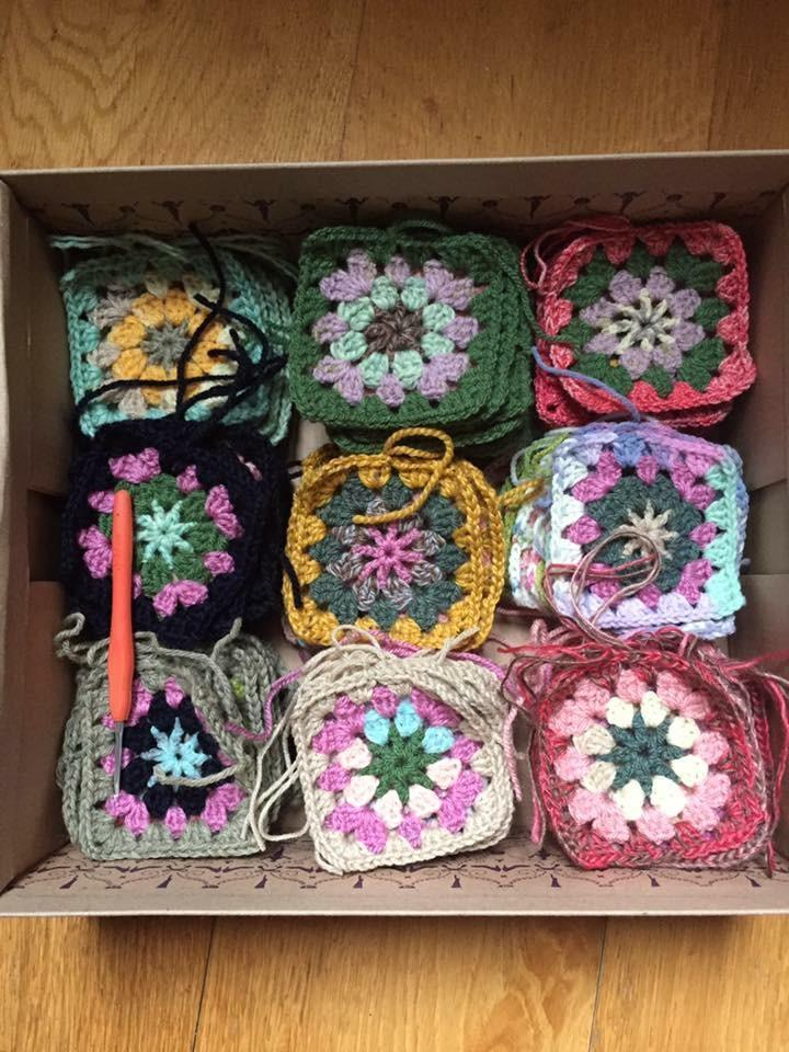 Crochet the Granny Square: 5th June tribeyarns Event