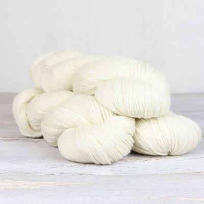 Cumbria Worsted The Fibre Co Yarn White Heather
