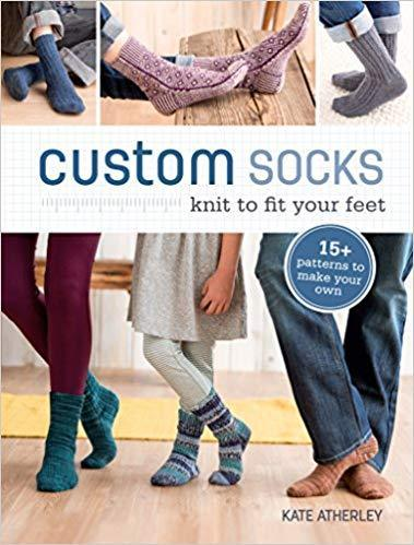 Custom Socks by Kate Atherley tribeyarns