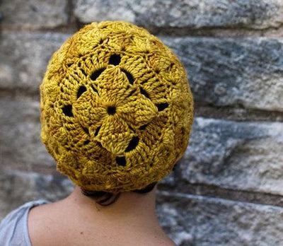 Dawn of the Daylily Crochet Hat Pattern tribeyarns Pattern
