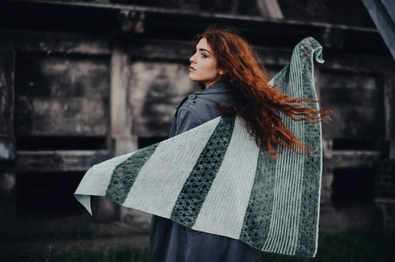 De Anima Shawl CROCHET Pattern Mrs Moon Pattern