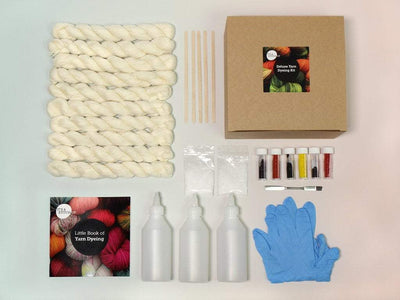 Deluxe Yarn Dyeing Kit - Mini Skeins It's A Stitch Up Other Stuff