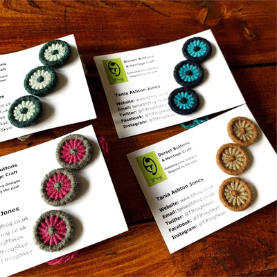 Di Gilpin Dorset Buttons TJFrog Buttons & Fasteners