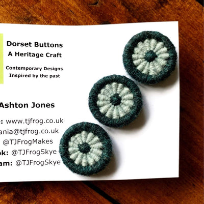 Di Gilpin Dorset Buttons TJFrog Buttons & Fasteners 23mm Two Colour - 4
