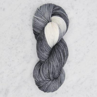 Dip Dyed Collection Swans Island Yarn BD Graphite/Natural