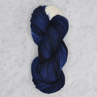 Dip Dyed Collection Swans Island Yarn BD Midnight/Natural