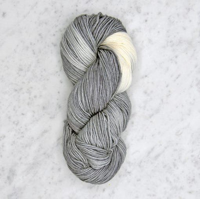 Dip Dyed Collection Swans Island Yarn BD Pewter/Natural