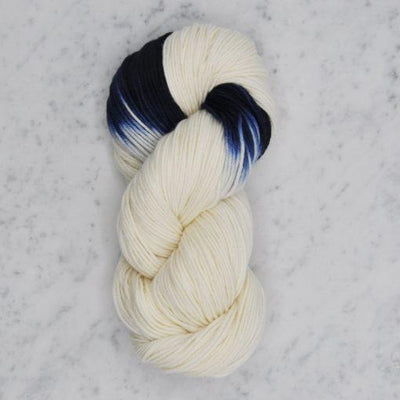 Dip Dyed Collection Swans Island Yarn LD Natural/Midnight