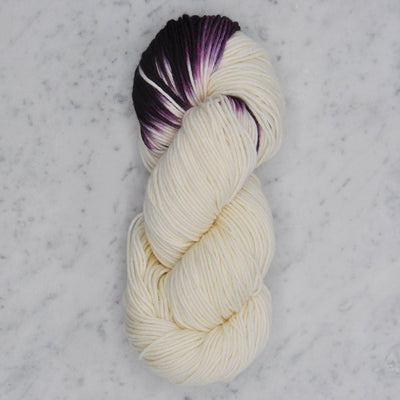 Dip Dyed Collection Swans Island Yarn LD Natural/Sangria