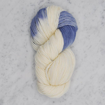 Dip Dyed Collection Swans Island Yarn LD Natural/Wedgwood