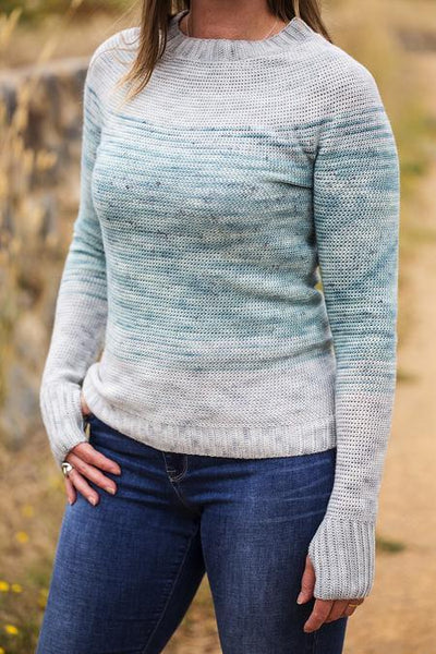 Double Dutch Crochet Sweater Pattern tribeyarns Pattern