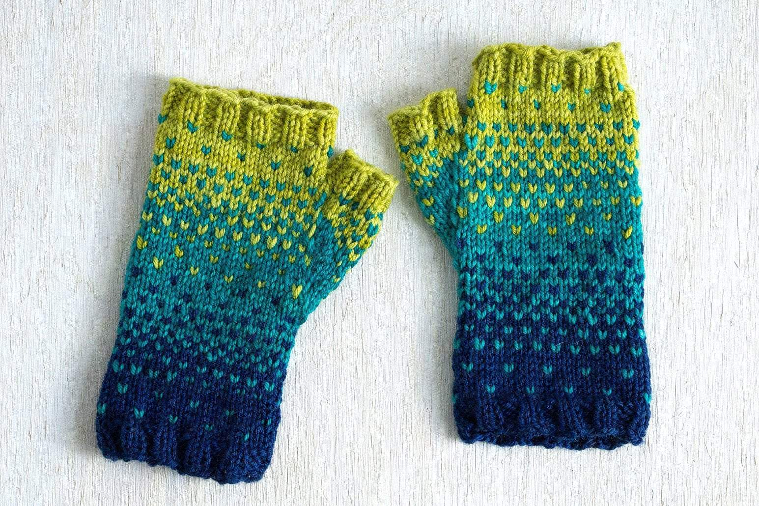 Drops of Spring Mitts Pattern Manos del Uruguay Pattern