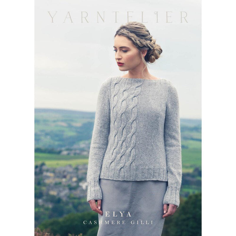 Elya Sweater Pattern Yarntelier Pattern