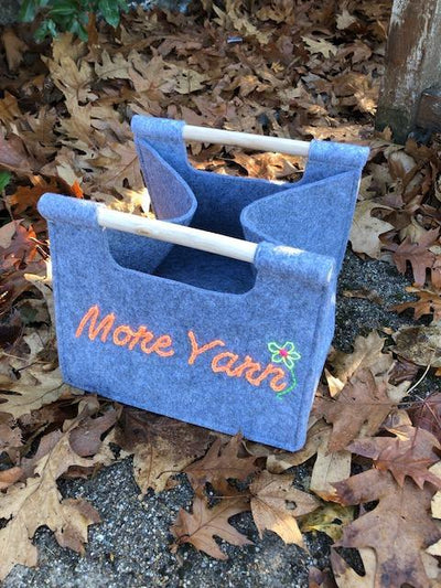 Emboidered Craft Totes tribeyarns Bags & Cases