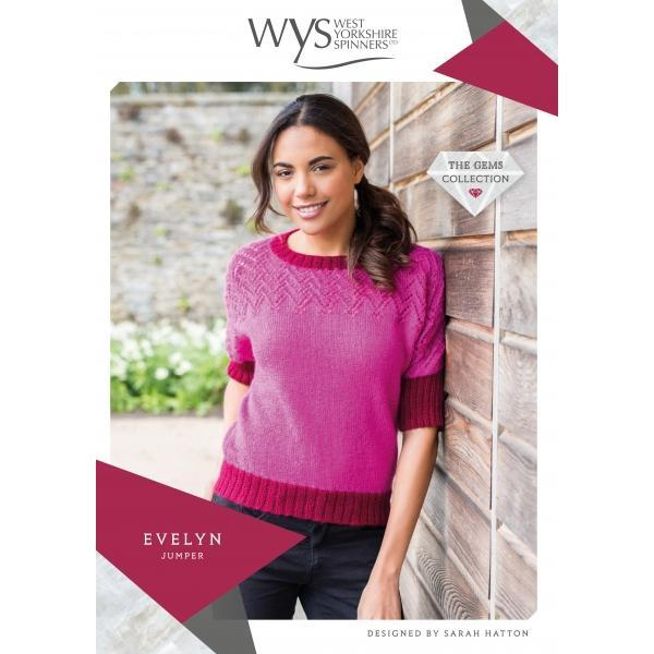 Evelyn Jumper Pattern West Yorkshire Spinners Knitting Pattern