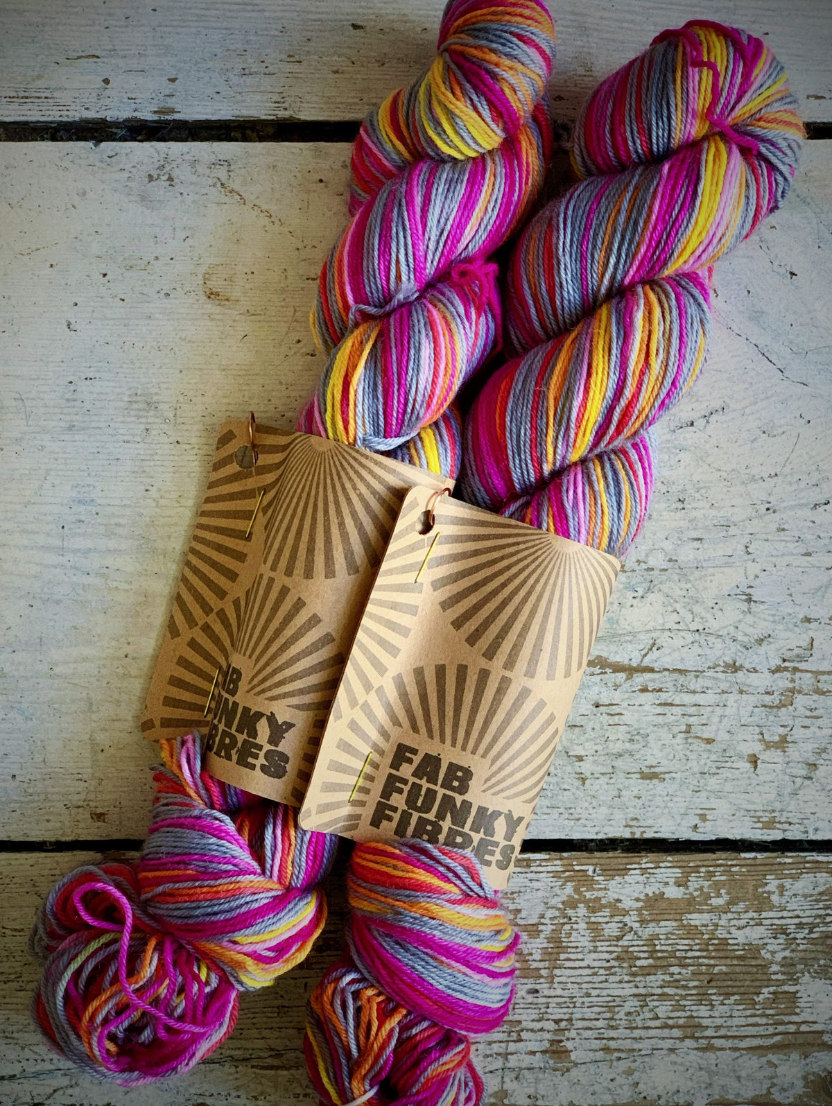 Fab Funky Self-Striping Sock Yarn Fab Funky Fibres Yarn