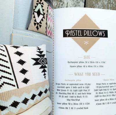 Fair Isle Crochet Workshop Book by Natasja Vreeswijk Search Press Book
