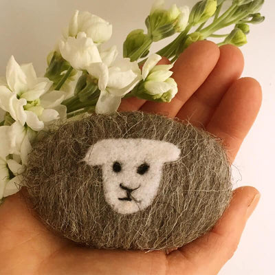 Felted Soap Little Beau Sheep Other Stuff